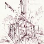 """""""BRAGOZZO"""" - Inchiostro su carta, 21x28 cm, anno 2012"""